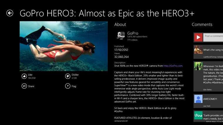 Hyper for YouTube screen shot 4