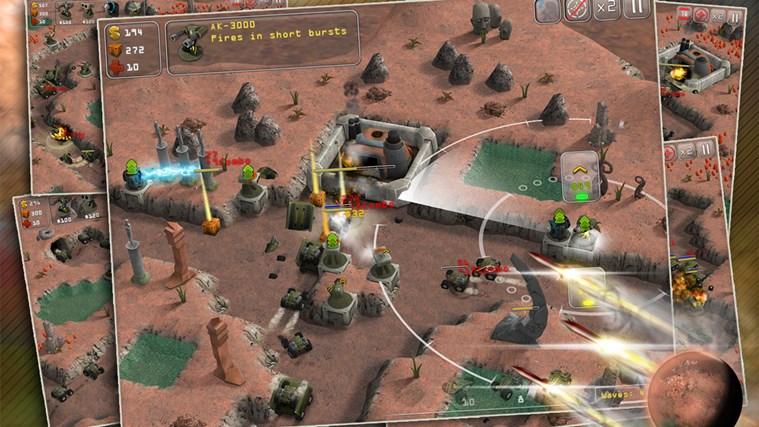 Total Defense 3D screen shot 2
