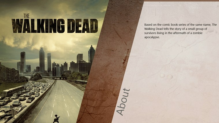 The Walking Dead Series Guide capture d'écran 0
