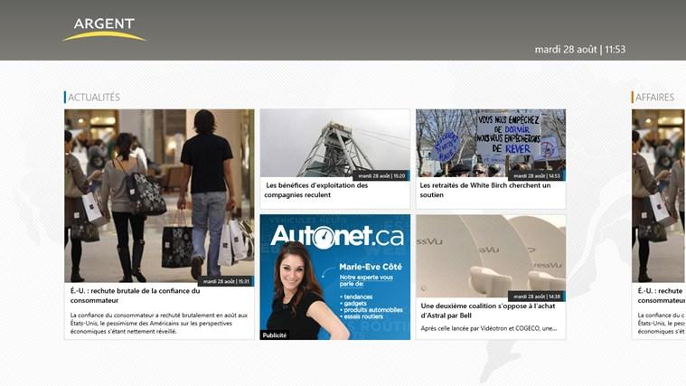 TVA Argent capture d'écran 0