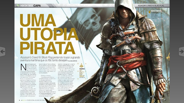 Revista Oficial do Xbox captura de tela 2