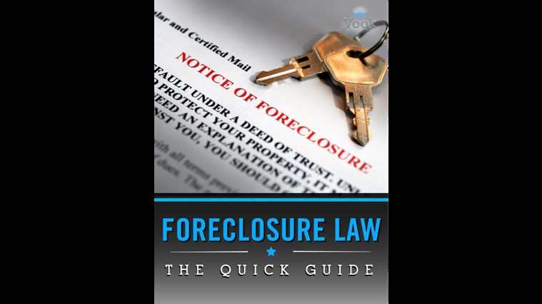 Foreclosure Law: The Quick Guide screen shot 0