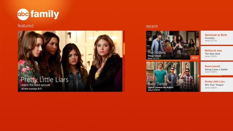 WATCH ABC Family screen shot 0