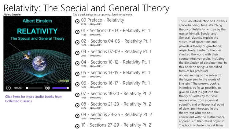 an analysis of the topic of the special theory of relativity and the general theory of relativity The physics of the universe - special and general relativity - special theory of relativity search introduction main topics topic index: - introduction.