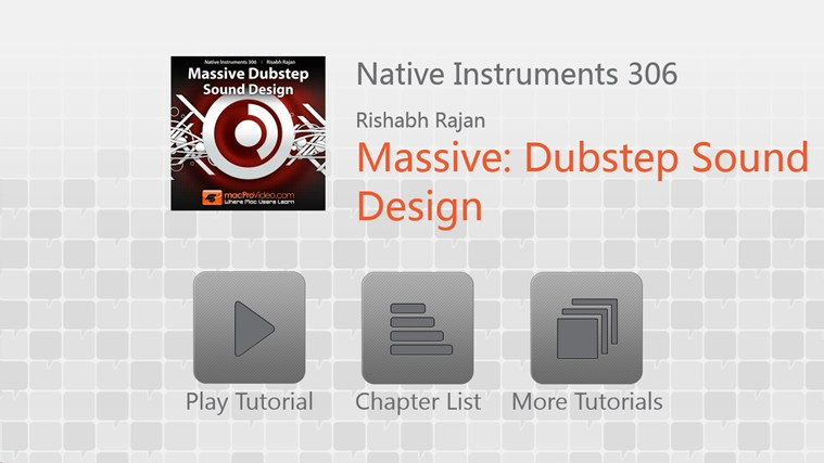 NI - Massive: Dubstep Sound Design screen shot 0