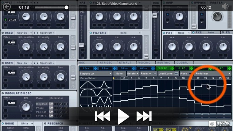 NI - Massive: Dubstep Sound Design screen shot 4
