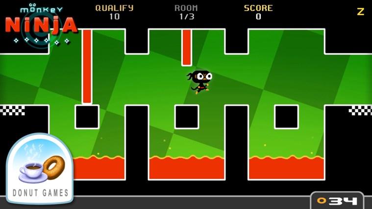 Monkey Ninja-skärmbild 0