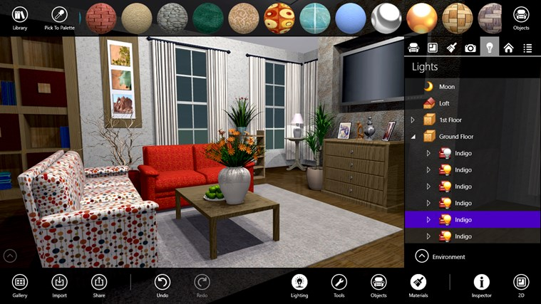 Live interior 3d free app for windows in the windows store House designing software for pc