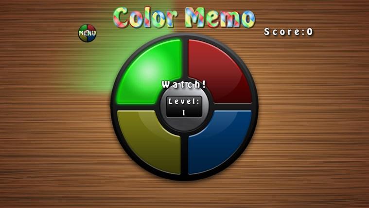 Color Memo screen shot 0