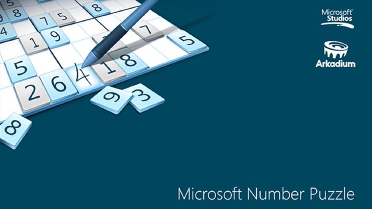 Microsoft Number Puzzle スクリーン ショット 0