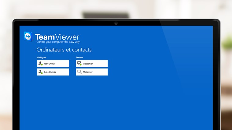 TeamViewer Touch capture d'écran 2
