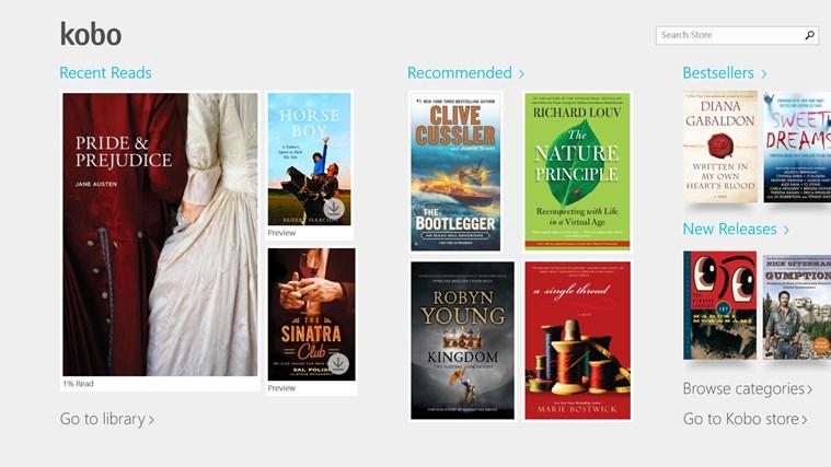 Kobo Books screen shot 0