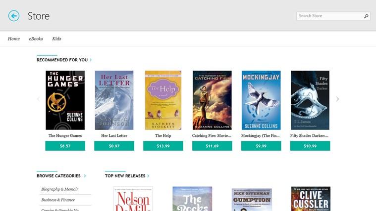 Kobo Books screen shot 4