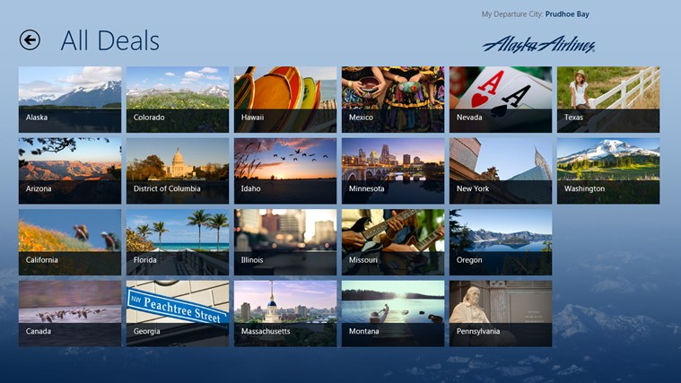 Alaska Airlines Deals & Destinations screen shot 4