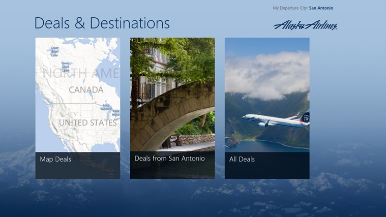 Alaska Airlines Deals & Destinations screen shot 6