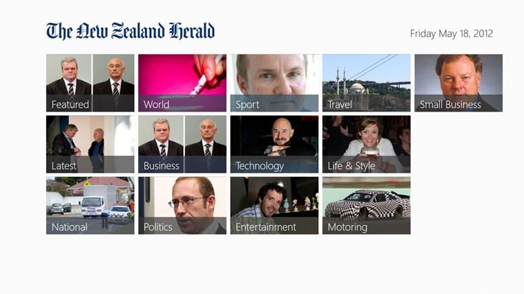 The New Zealand Herald screen shot 6