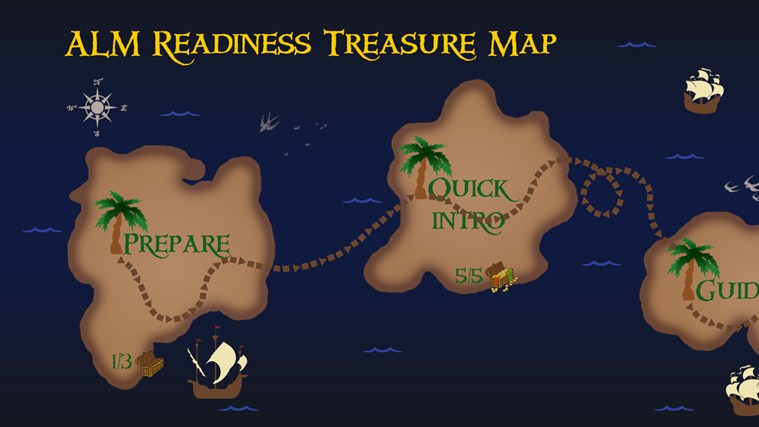 ALM Readiness Treasure Map screen shot 0
