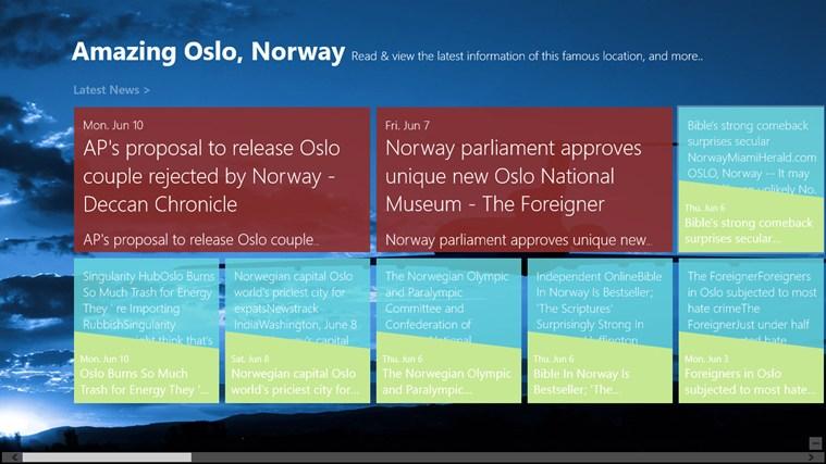 Amazing Oslo, Norway posnetek zaslona 0