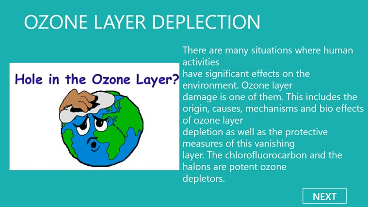 Save o zone layer essay