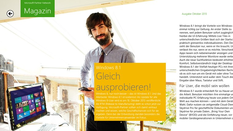 Microsoft Partner Magazin Screenshot 2