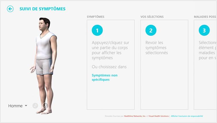 Bing Santé & Forme capture d'écran 6