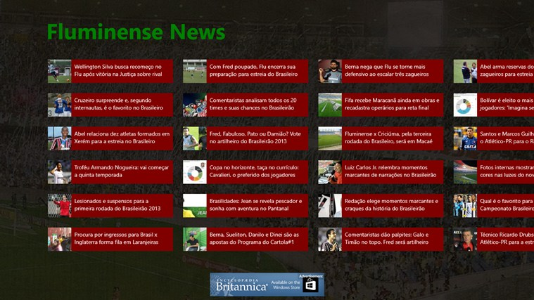 Fluminense News screen shot 0