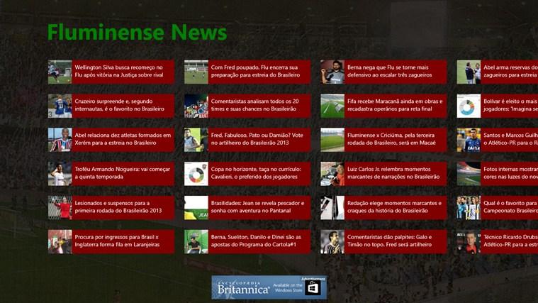 Fluminense News screen shot 0