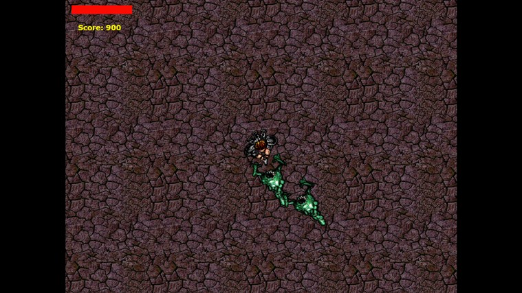 Survivor of the Green Monsters captura de tela 2