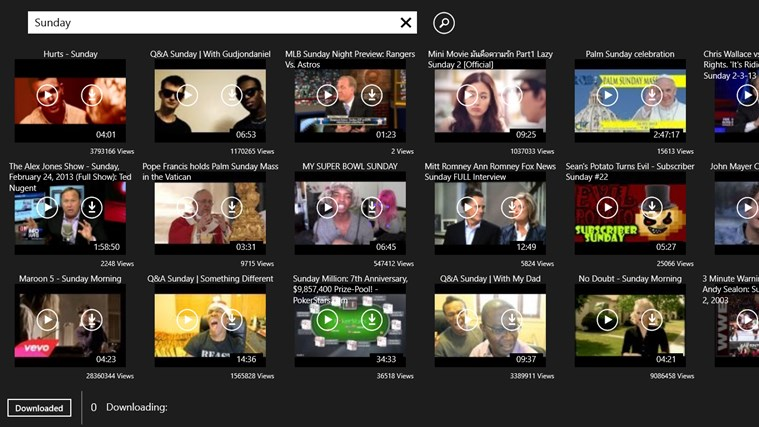 Youtube Search & Download screen shot 0