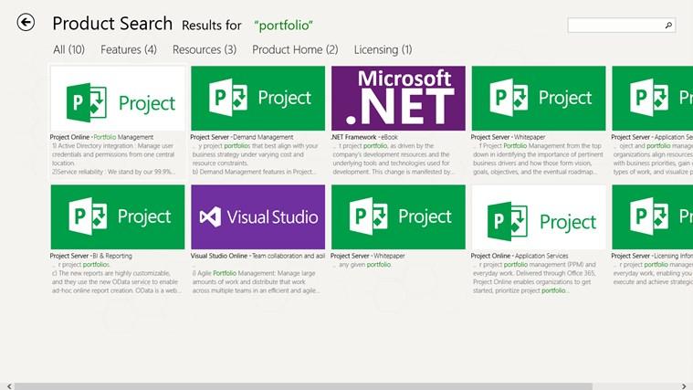 Products & Services Portfolio screen shot 6