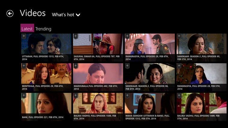 ColorsTV screen shot 2