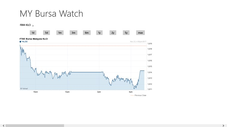 MY Bursa Watch screen shot 0