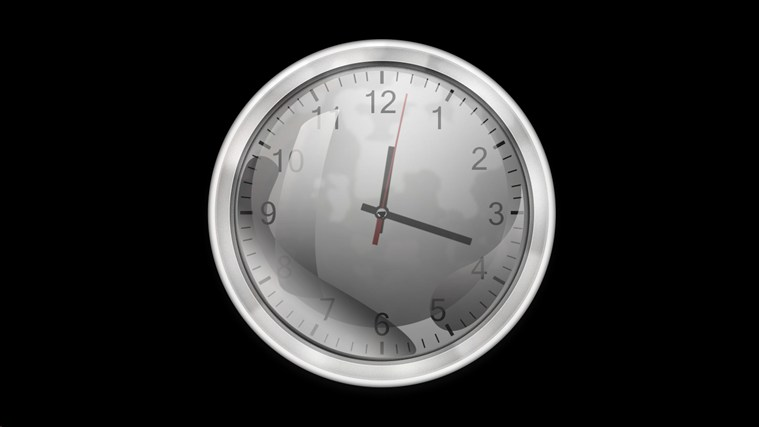 Analog Desktop Clock screen shot 0