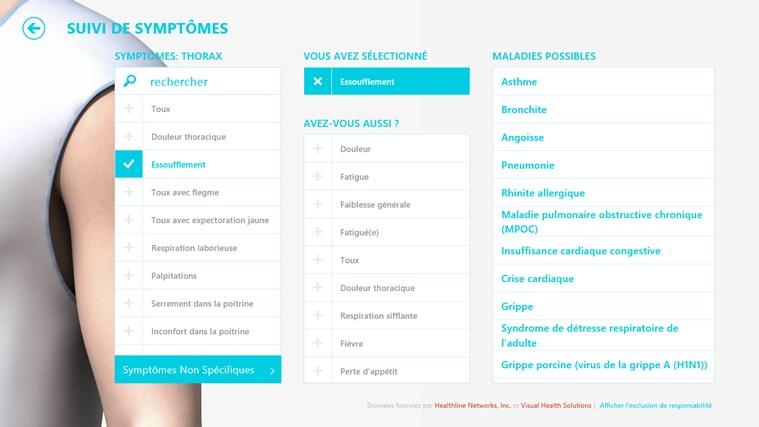 MSN Santé & Forme capture d'écran 6