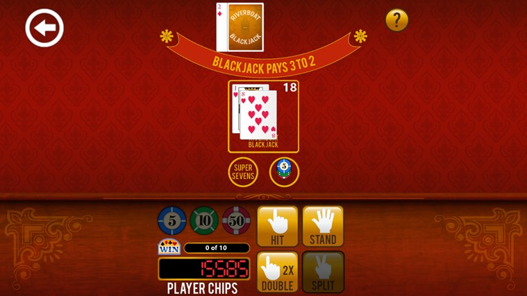 3rd Floor Blackjack screen shot 0