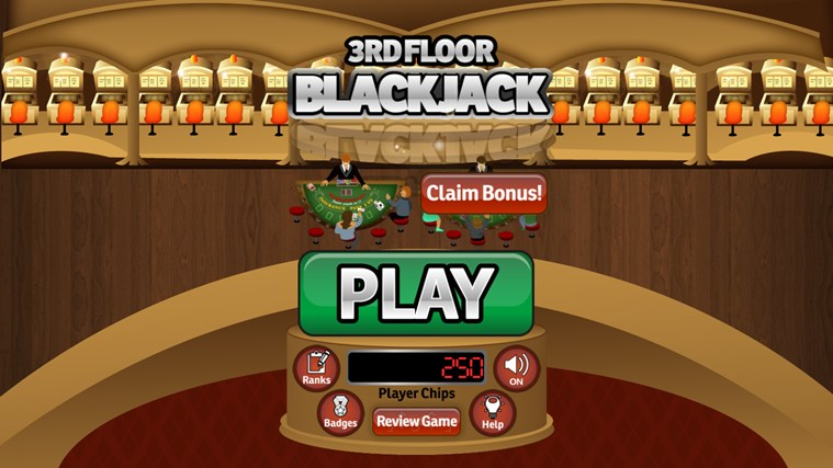3rd Floor Blackjack screen shot 4