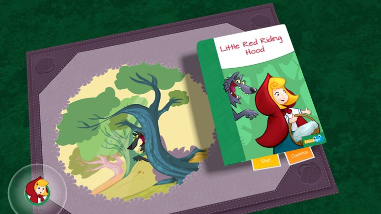 Little Red Riding Hood HD screen shot 0