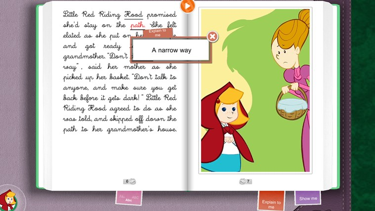 Little Red Riding Hood HD screen shot 2