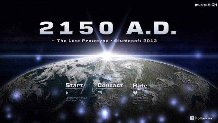 2150 A.D. screen shot 0