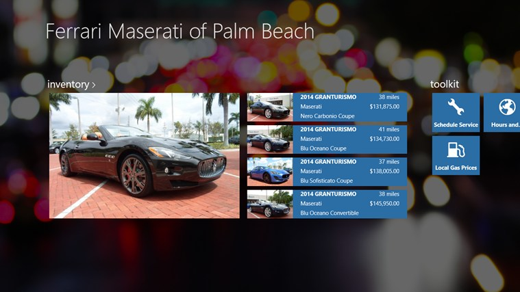 Ferrari Maserati of Palm Beach DealerApp captura de tela 0