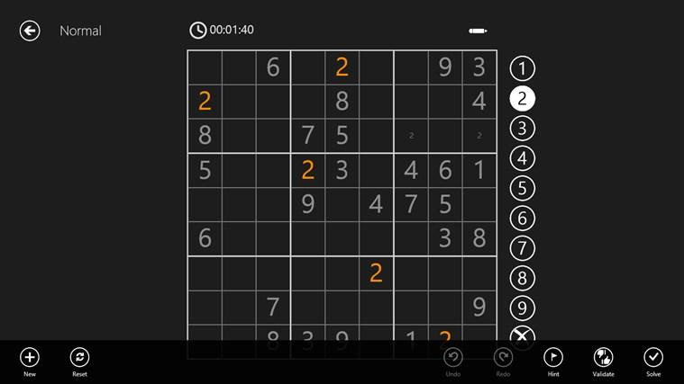 Sudoku 8 Free schermafbeelding 2