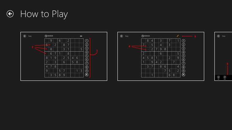Sudoku 8 Free schermafbeelding 4