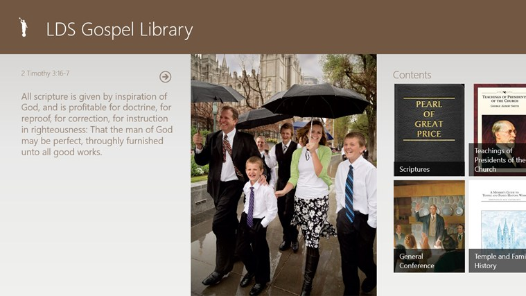 LDS Gospel Library screen shot 0