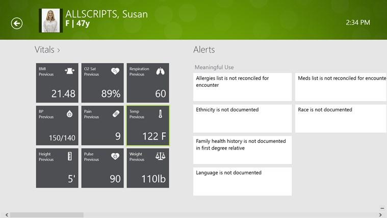 Allscripts Wand for TouchWorks EHR screen shot 0