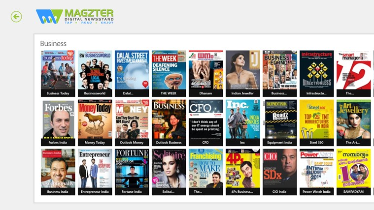 Magzter screen shot 0