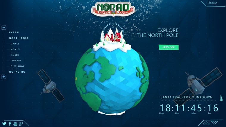 NORAD Tracks Santa screen shot 0