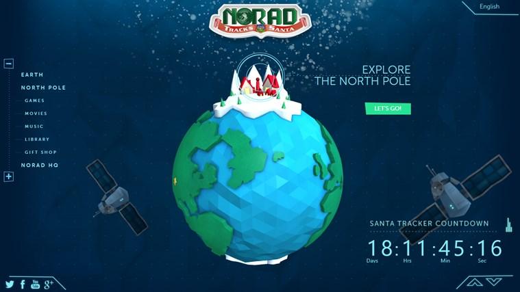 NORAD Tracks Santa skærmbillede 0