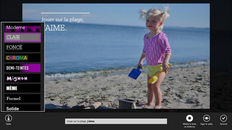 Instants vidéos capture d'écran 2