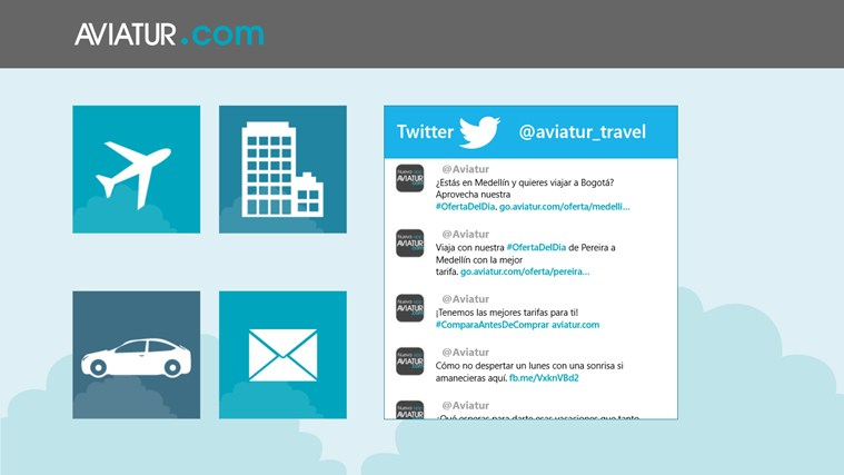Aviatur Mobile screen shot 0