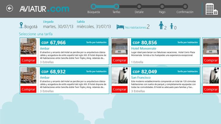 Aviatur Mobile screen shot 2